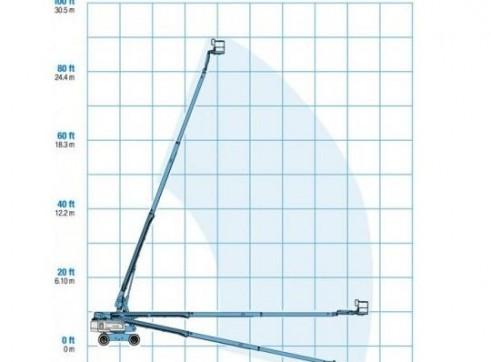 Mobile Straight Boom - 26m (85ft) Diesel Genie 4