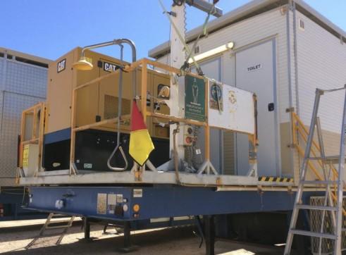Generator & Laundry Units - Mobile Trailerised 2