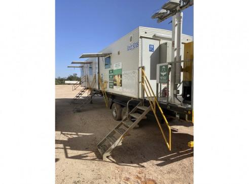 Generator & Laundry Units - Mobile Trailerised 1