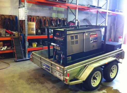 Mobile Welding Rig 2