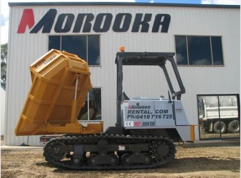Morooka MST 300VDR Tracked Dumper 2.5T 2