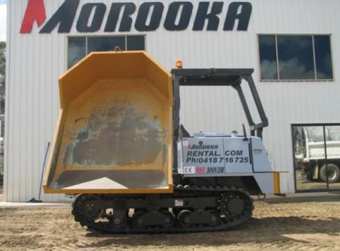 Morooka MST 300VDR Tracked Dumper 2.5T 3