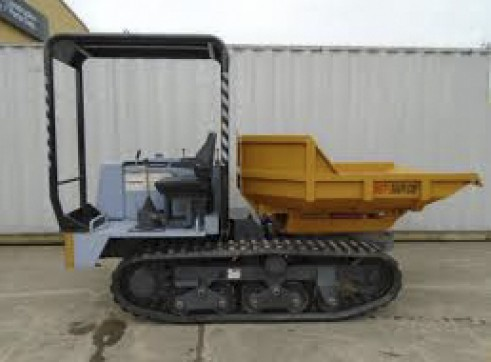 Morooka MST 300VDR Tracked Dumper 2.5T 1