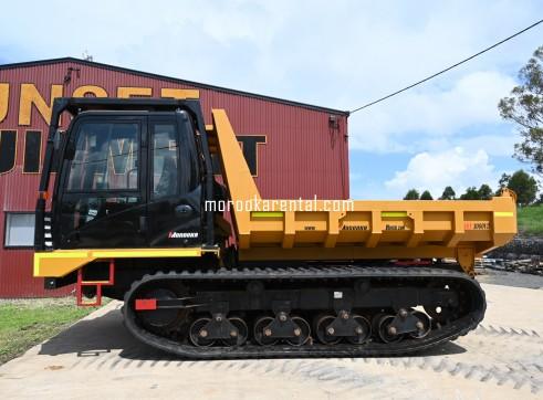 Morooka MST3000VD Rubber Tracked Dumper 15t 1
