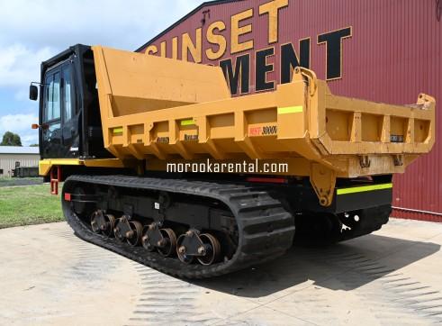 Morooka MST3000VD Rubber Tracked Dumper 15t 3