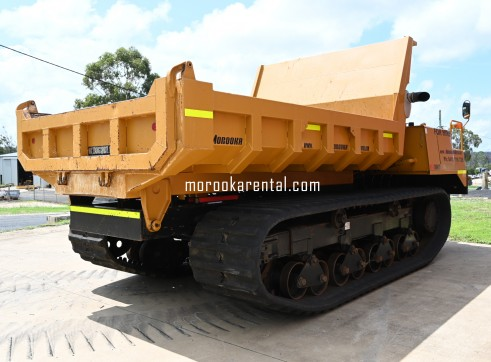 Morooka MST3000VD Rubber Tracked Dumper 15t 4