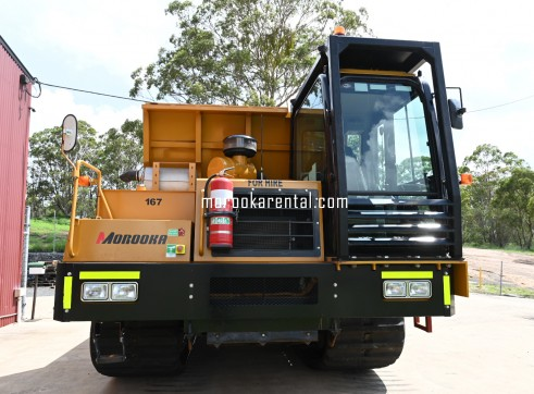 Morooka MST3000VD Rubber Tracked Dumper 15t 5