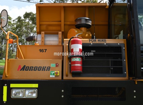 Morooka MST3000VD Rubber Tracked Dumper 15t 6