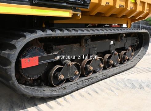 Morooka MST3000VD Rubber Tracked Dumper 15t 8