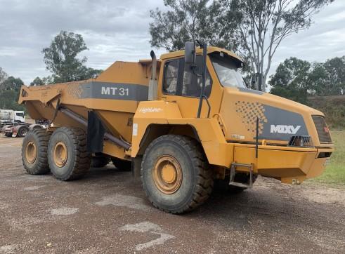 Moxy 30t dump Artic truck 4