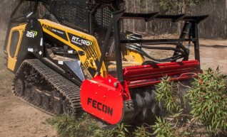Mulcher Attachment - suit skidsteer and 20T Excavator 1