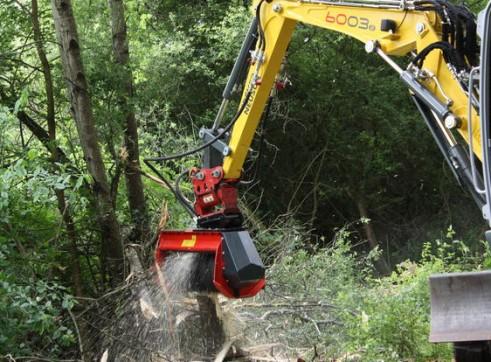Mulcher for Excavator 1