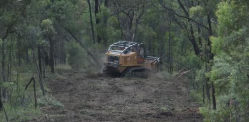 Mulching Access Tracks 1