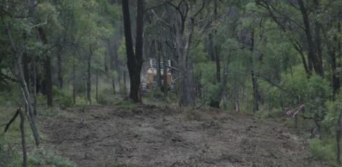 Mulching Access Tracks 4