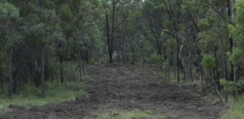 Mulching Access Tracks 5