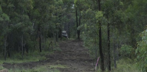 Mulching Access Tracks 6