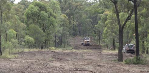 Mulching Access Tracks 2