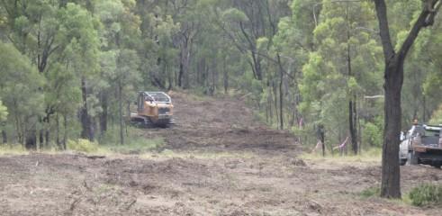 Mulching Access Tracks 3