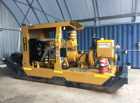 Multiflow 385HP-G Pump - full mine spec 1