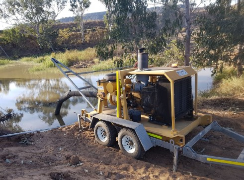 Multiflow CF43H Trailer Pump - full mine spec 1