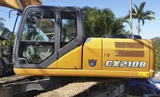 21T CASE CX210B Excavator 1