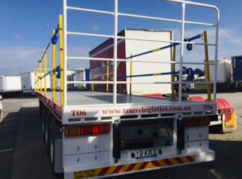 NEW 45FT Flat Top Trailers 2