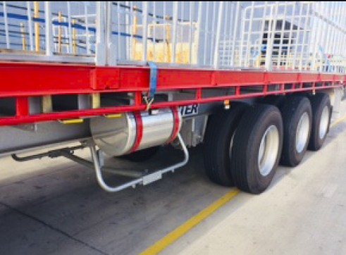 NEW 45FT Flat Top Trailers 3
