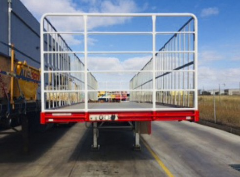 NEW 45FT Flat Top Trailers 4