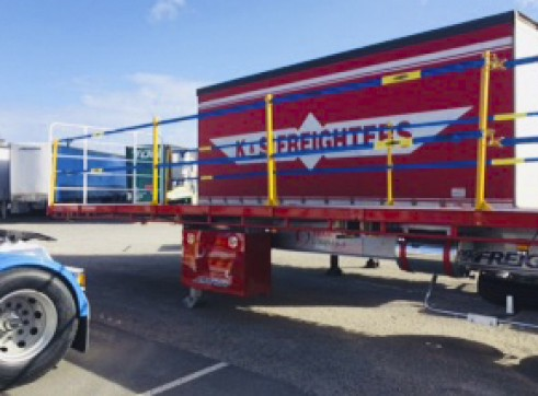 NEW 45FT Flat Top Trailers 5