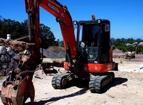 NEW 4T Kubota Excavator 1