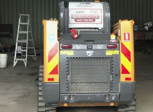 NEW 75HP Case TR270 CTL Posi-Track 3