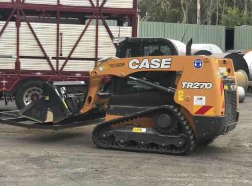 NEW 75HP Case TR270 CTL Posi-Track 2