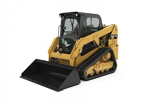 NEW CAT 239D TRACKED SKIDSTEER 1