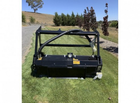 NEW - FAE / CAT HM418C Forestry Mulching Attachment 4
