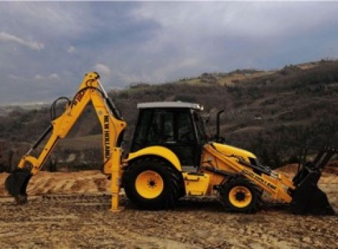 New Holland Backhoe 1