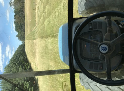 New Holland Tractor w/slasher 3