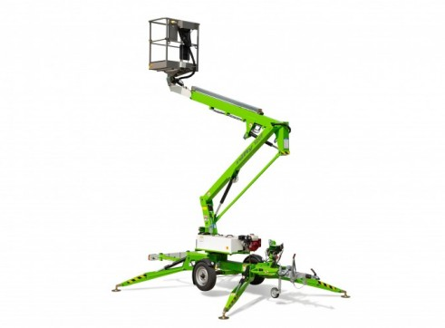 Nifty 120T Trailer Mounted Electric Boom Lift 1