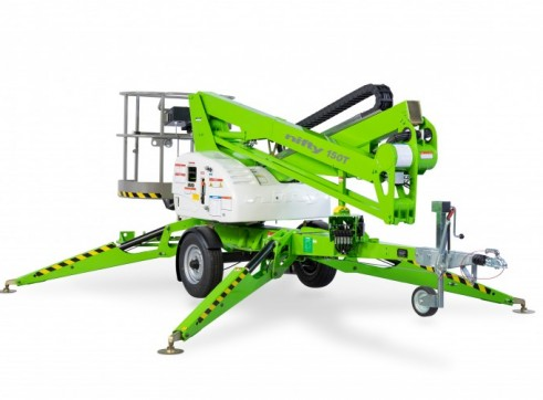 Nifty 150T Trailer Mounted Electric Boom Lift 1