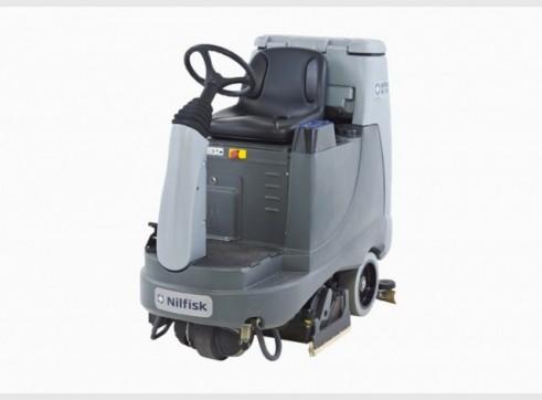 Nilfisk BR855 – Ride On Scrubber (Battery) 3