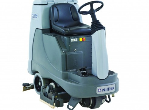 Nilfisk BR855 – Ride On Scrubber (Battery) 2