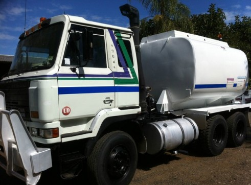 NISSAN UD 6X4 WATER CART. 12,000LT TANK READY TO GO! 1
