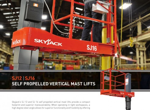 NSW Vertical Mast Lifts Rentals 2