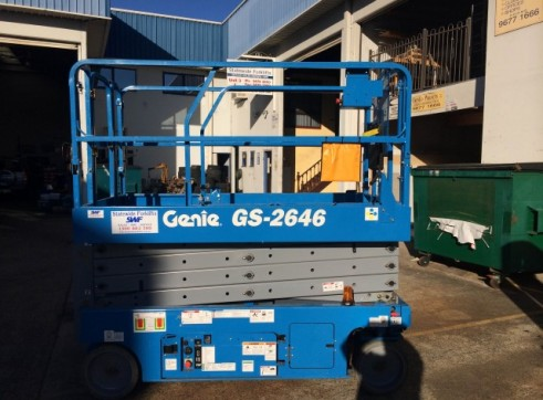 NSW Electric Scissor Lift Rentals 1