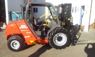 NSW Rough Terrian Forklift Rentals 1