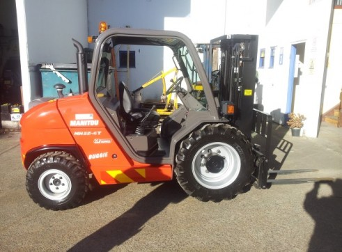 NSW Rough Terrian Forklift Rentals 1