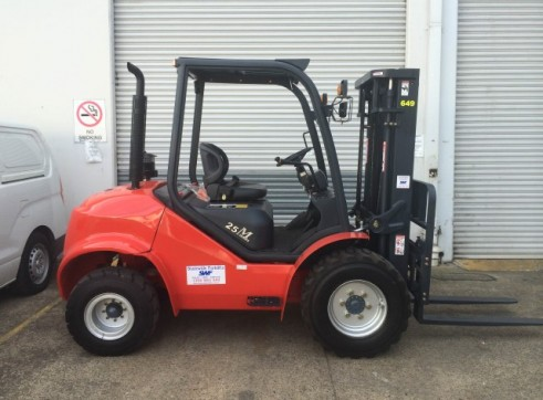NSW Rough Terrian Forklift Rentals 2