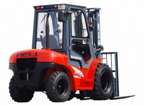 NSW Rough Terrian Forklift Rentals 3