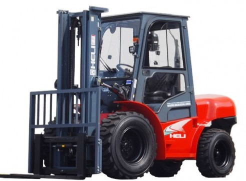 NSW Rough Terrian Forklift Rentals 4
