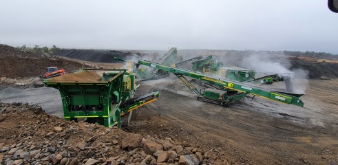 On site crushing and screening specialist 3