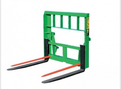 Pallet Round Bale Fork Combo 1
